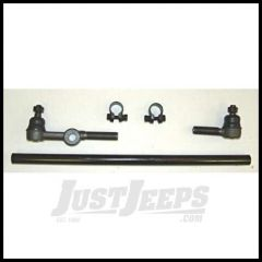 Omix-ADA Tie Rod Assembly For 1949-71 Jeep CJ Series With 4 Cyl (Passenger Side With Tube) 18046.01