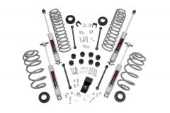 """Rough Country 3¼"""" Suspension Spring & Spacer Lift System With Premium N3.0 Series Shocks For 2003-06 Jeep Wrangler TJ & Jeep Wrangler TJ Unlimited (6 Cylinder Models) 644.20"""