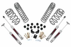 """Rough Country 3¾"""" Suspension Spring & Body Lift System With Premium N3.0 Series Shocks For 1997-06 Jeep Wrangler TJ & Jeep Wrangler TJ Unlimited (6 Cylinder Models) 647.20"""