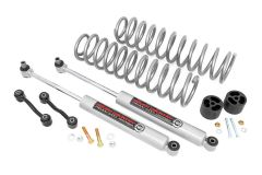 Rough Country 2.5in Suspension Lift Kit with Springs For 2020+ Jeep Gladiator JT 4 Door Models 64830B