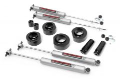 """Rough Country 1½"""" Suspension Lift Kit With Premium N3.0 Series Shocks For 1997-06 Jeep Wrangler TJ & Jeep Wrangler TJ Unlimited 65030"""