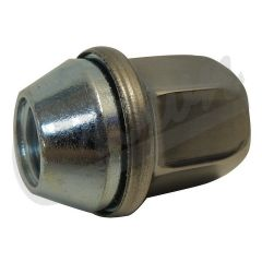 """Crown Automotive Stainless Steel Cone Seat Style Lug Nut Set (M14 X 1.5 Thread Size)"""" 6509422AA"""