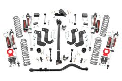 Rough Country 3.5in Suspension Lift Kit Stage 2 with Coils For 2018+ Jeep Wrangler JL 2 Door Models 62750