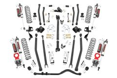 """Rough Country 6"""" Long Arm Suspension Lift Kit For 2018 Jeep Wrangler JL Unlimited 4 Door Models 66050"""