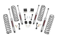 """Rough Country 2.5"""" Jeep Suspension Lift Kit   SPRINGS For 2018 Jeep Wrangler JL Unlimited 4 Door Models 67731"""