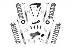 "Rough Country 4"" Suspension Lift System With Performance N3.0 Series Shocks For 2007-18 Jeep Wrangler JK Unlimited 4 Door Models 681S"