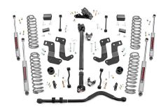 Rough Country 3.5in Suspension Lift Kit Stage 2 with Coils For 2018+ Jeep Wrangler JL 2 Door Models 90530