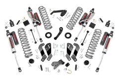 "Rough Country 3½"" Lift Kit With Premium N3 Series Shocks & Vertex Reservoir For 2007-18 Jeep Wrangler JK Unlimited 4 Door Models 69430V"