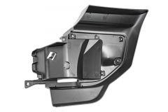 MOPAR Front Bumper Closeout Panel for Driver Side For 18+ Jeep Wrangler JL, JLU and Gladiator JT with Plastic Bumper 6QZ89RXFAB