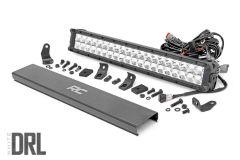 "Rough Country 20"" Cree LED Light Bar (Dual Row) (Chrome Series) 70920D"