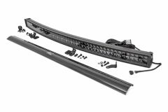 "Rough Country 50"" Curved Cree LED Dual Row Light Bar (Black Series) 72950D"