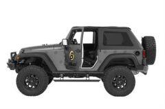 BESTOP PowerBoard NX Retractable Electric Running Boards For 2007-18 Jeep Wrangler JK 2 Door Models 75651-15