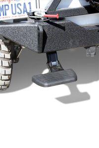 AMP Research BedStep Bumper Step With Textured Black Finish For 2007-18 Jeep Wrangler JK 2 Door & Unlimited 4 Door Models 75311-01A
