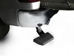 AMP Research Bedstep Retractable Bumper Step (Black) For 2020+ Jeep Gladiator JT 4 Door Models 75326-01A