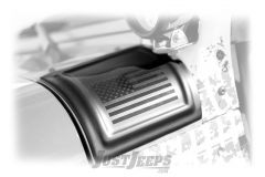 Rampage Products U.S.A. Flag Cowl Covers For 2007-18 Jeep Wrangler JK 2 Door & Unlimited 4 Door Models 76128