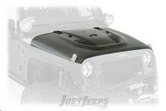 SmittyBilt SRC Stingray Vented Hood For 2007-18 Jeep Wrangler JK 2 Door & Unlimited 4 Door Models 76400