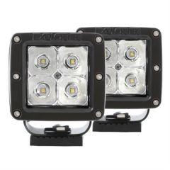 """Pro Comp 2"""" Square LED Spot Lights (Pair) EXP76407P"""