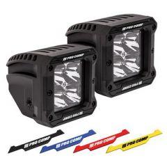 Pro Comp 2x2 Square S4 GEN3 LED Spot Lights 76414P