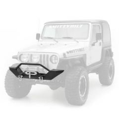 SmittyBilt XRC Front Bumper In Textured Black For 1997-06 Jeep Wrangler TJ & TLJ Unlimited Models 76800