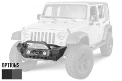 SmittyBilt XRC Gen2 Front Bumper With Winch Mount For 2007-18 Jeep Wrangler JK 2 Door & Unlimited 4 Door Models 76807-