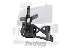 SmittyBilt XRC/SRC Gen2 Bolt-On Tire Carrier For 2007-18 Jeep Wrangler JK 2 Door & Unlimited 4 Door Models 76857LT