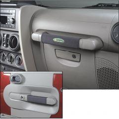 Quadratec Neoprene Grab Bar & Door Handle Wraps for 07-10 Jeep Wrangler JK 2 Door 14017JK10-
