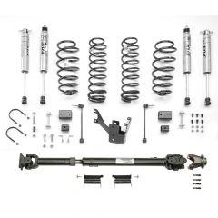 "MOPAR 2"" Lift Kit With Front 1310 Double Cardin Driveshaft & Fox Racing Shocks For 2012-18 Jeep Wrangler JK Unlimited 4 Door Models 77070088"