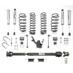 "MOPAR 2"" Lift Kit With Front 1310 Double Cardin Driveshaft & Fox Racing Shocks For 2012-18 Jeep Wrangler JK 2 Door Models 77070095"