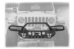 SmittyBilt SRC Gen2 Front Bumper For 2018+ Jeep Gladiator JT & Wrangler JL 2 Door & Unlimited 4 Door Models 77724
