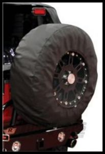 "Rampage Tire Cover With 17"" Clear Window For ""30-32"" Black Diamond 783235"