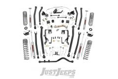 "Rough Country 4"" Long Arm Suspension Lift Kit For 2012-2018 Jeep Wrangler JK Unlimited 4 Door Models 78630"