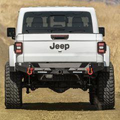SmittyBilt Rear Bumper Bracket Kit For 2020+ Jeep Gladiator JT 78701K