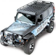 Garvin Wilderness Expedition Rack For 2007-18 Jeep Wrangler JKU 4 Door Models 44074