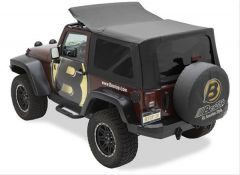 BESTOP OEX Replace-A-Top For 2010-18 Jeep Wrangler JK 2 Door Models 79348-35