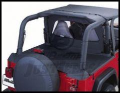 BESTOP Sport Bar Covers In Black Diamond For 2003-06 Jeep Wrangler TJ 80022-35