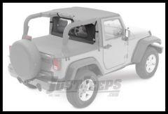 BESTOP Windjammer In Black Diamond For 2007+ Jeep Wrangler JK 80031-35
