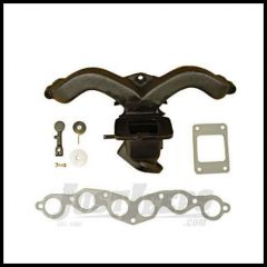 Omix-ADA Exhaust Manifold Kit For 1941-68 Jeep M & CJ Series With 134 L-Head With Gasket 17622.01