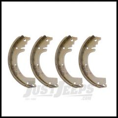 Omix-ADA Brake Shoe Set Front or Rear for 1953-66 CJ with 9 in. Brake 16726.02