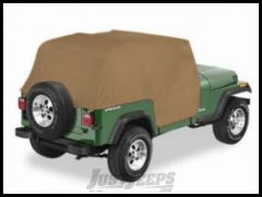 BESTOP All Weather Trail Cover In Spice For 1992-95 Jeep Wrangler YJ 81036-37