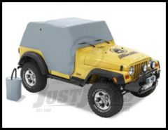 BESTOP All Weather Trail Cover In Charcoal For 1997-06 Jeep Wranlger TJ 81037-09