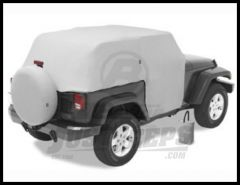 BESTOP All Weather Trail Cover In Grey For 2007-18 Jeep Wrangler JK 2 Door Models 81040-09