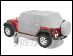 BESTOP All Weather Trail Cover In Grey For 2007-18 Jeep Wrangler JK Unlimited 4 Door Models 81041-09