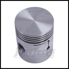 Omix-ADA Piston With Pin For 1941-71 CJ Series With 4 CYL 134 .080 Oversized 17427.01