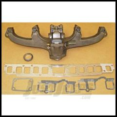 Omix-ADA Exhaust Manifold Kit For 1968-80 Jeep CJ Series With 6 Cyl With Gasket 17622.05