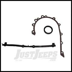 Omix-ADA Timing Cover Gasket Set with Oil Seal For 1965-90 CJ Series, Wrangler YJ With 6 CYL 232/258 17449.01