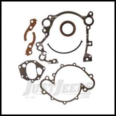 Omix-ADA Timing Cover Gasket Set with Oil Seal For 1971-93 CJ Series & Full Size With V8 17449.02