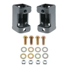 Synergy Manufacturing Front Lower Shock Relocation Brackets For 1997-06 Jeep Wrangler TJ & TLJ Unlimited Models 8167-01