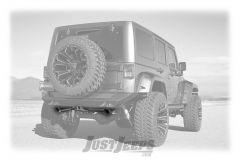 FlowMaster Outlaw Axle-Back Exhaust With Black Tips For 2012-18 Jeep Wrangler JK 2 Door & Unlimited 4 Door Models 817752