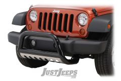 "Rugged Ridge 3"" Black Powder Coated Bull Bar For 2007-09 Jeep Wrangler JK 2 Door & Unlimited 4 Door Models 82001.27"