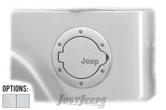 MOPAR Aluminum Fuel Filler Door For 1997-06 Jeep Wrangler TJ & TJ Unlimited Models 82209292-